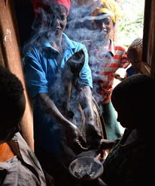 Incense Burner, Ethiopia