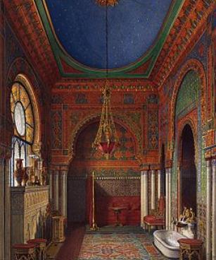 The Bathroom of Empress Alexandra Fyodorovna. 1870