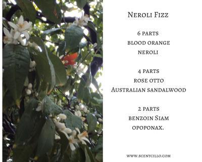 Neroli Fizz essential oil blend