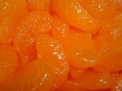 Mandarin oranges canned