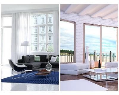 Greek Island styled interior space