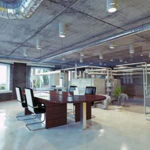 office in industrial space