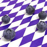 Blueberries on Bavarian flag